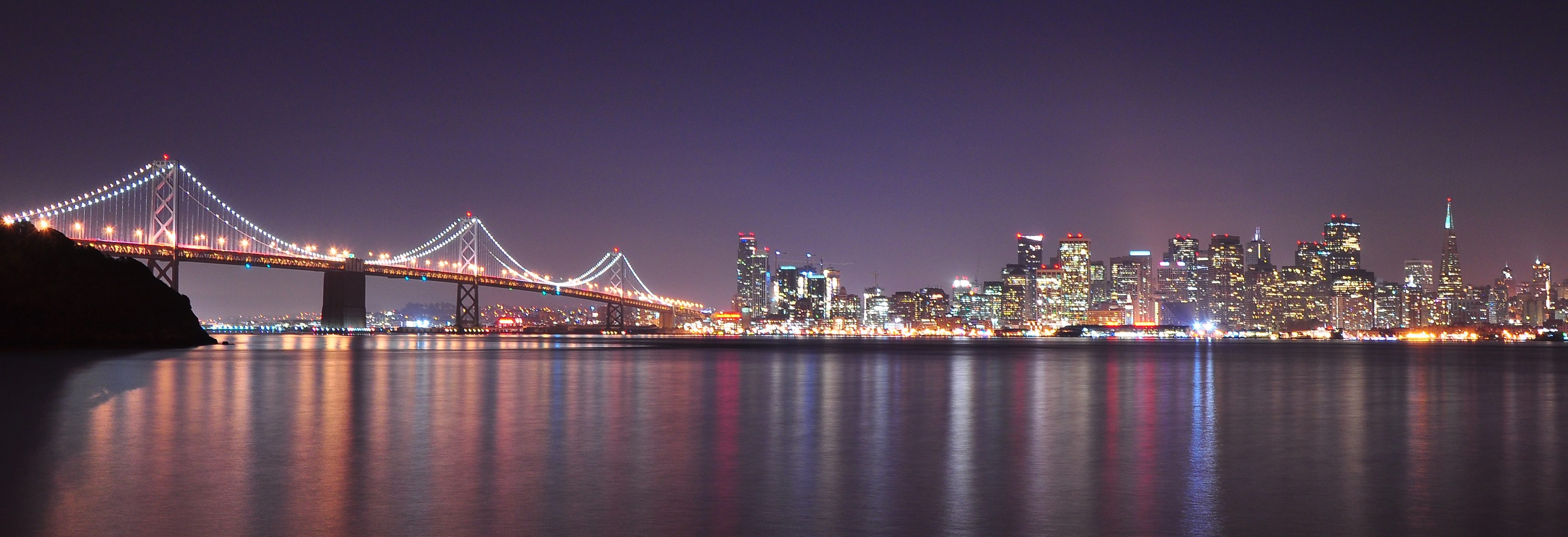 View of San Francisco at Night